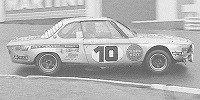 BMW 2800 CS 24H SPA-FRANCORCHAMPS 1972 nr10, fitzpatrick, peltiere, ethuin.