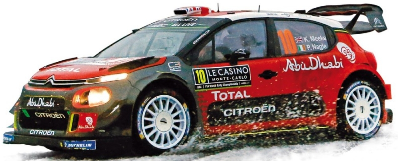 Citroen C3 WRC Rallye De Monte Carlo 2018