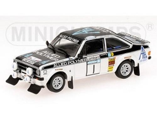 FORD ESCORT II RS1800 ALLIED POLYMER WINNER RAC RALLY 1975