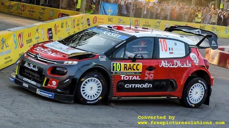 Citroen C3 WRC,Rallye Catalunya 2018
