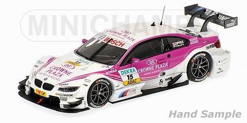 BMW M3 DTM CROWNE PLAZA BMW TEAM RBM MAMPAEY DTM 2012