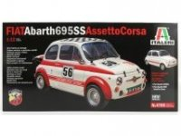FIAT 500 ABARTH 695SS 1968 ,  STREET OR Nr56 RACING VERSION