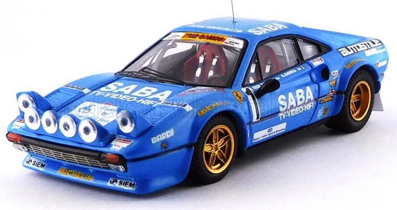 FERRARI 308 GTB,night Version,SABA WINNER RALLY MILLE MIGLIA 1983