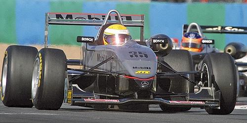 DALLARA MERCEDES F302,LEWIS HAMILTON,WINNER NORISRING F3 EURO SERIES 2004