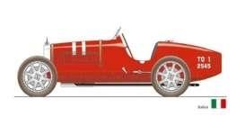Bugatti T35 Nation Color Project Italy 1924