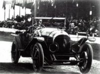 Bentley 3l Winner Le Mans 1924 nr8 j. duff f.clement.