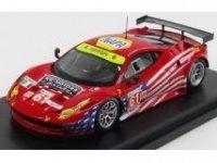 FERRARI 458 ITALIA GT2 GTE AM TEAM AF CORSE-WALTRIP 31th 24h LE MANS 2012, promotion limitee