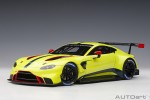 ASTON MARTIN VANTAGE GTE LE MANS PRO 2018 PRESENTATION CAR