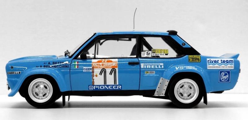 FIAT 131 ABARTH RIVER TEAM RALLY SANREMO 1980