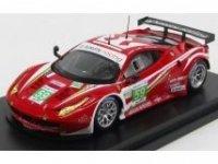 FERRARI 458 ITALIA 8C GTE PRO TEAM LUXURY RACING 2nd PLACE 24h LE MANS 2012, promotion limitee