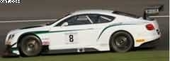 BENTLEY CONTINENTAL GT3 24H SPA 2014 M-SPORT BENTLEY