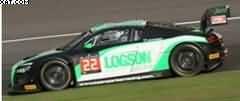 AUDI R8 LMS ULTRA ND GTR 24H SPA 2014 PARKER RACING