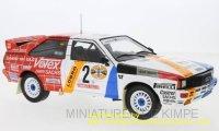 Audi quattro, Rallye DM, Hunsruck Rallye 1984