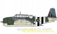 Grumman Avenger,  Reg. J2490,  855 Sqn