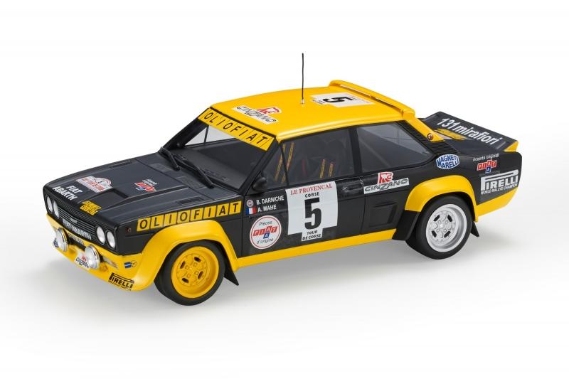 Fiat 131 ABARTH WINNER TOUR DE CORSE 1977