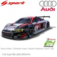 Audi R8 Lms Audi Sport Team Car Collection 3th 24h Nurburgring 2019