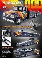 Dodge D300 Ramp Truck 1970 AAR Trans Am Team Dan Gurney