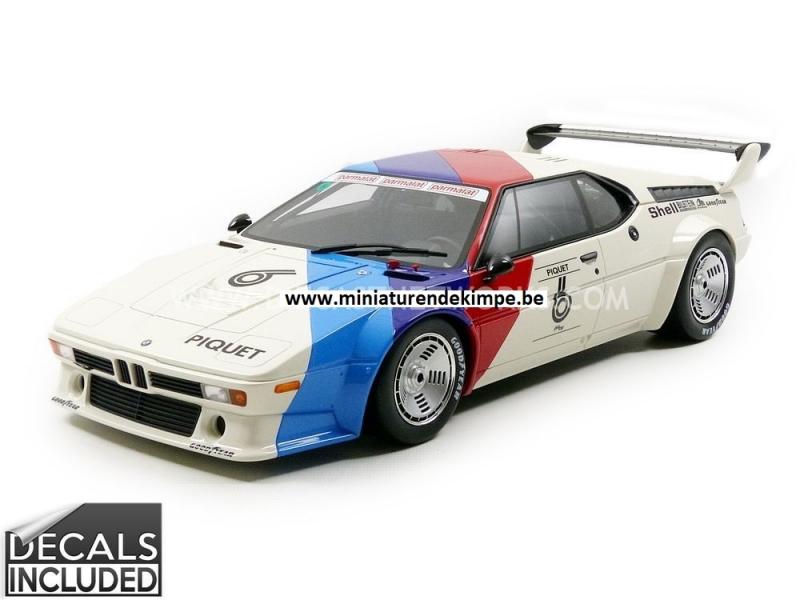 BMW M1 Procar Winner Procar Series 1980,tijdelijke Promotie