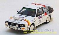 Audi Sport Quattro, Shell Oils, RAC Rallye 1986