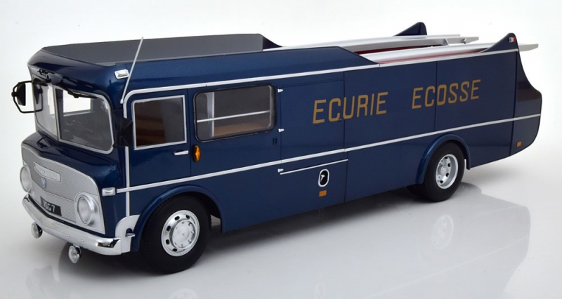 COMMER TS3 TRANSPORTER ECURIE ECOSSE 1959