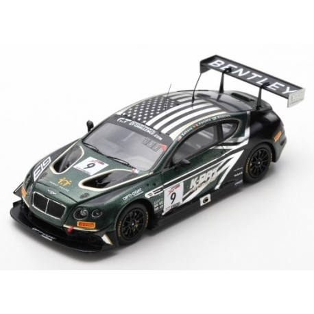 BENTLEY CONTINENTAL GT3 KPAX RACING 8u CALIFORNIE 2018