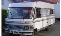 Hymer Mobil Type 650,  Camper 1985