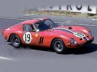 Ferrari 250 GTO 24H Le Mans 1962 S-N 3705 GT s