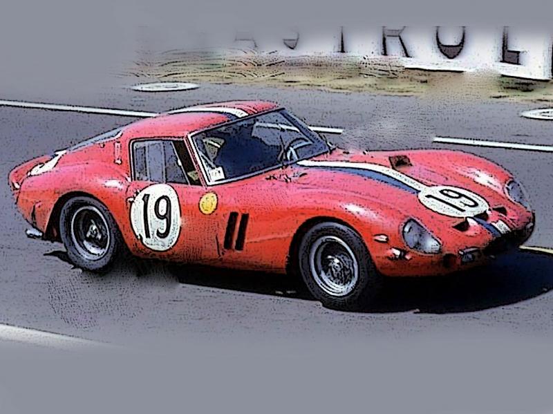 Ferrari 250 GTO 24u Le Mans 1962 S-N 3705 GT S