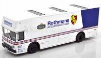 Mercedes O317 Truck Car Transporter Porsche Rothmans 1984