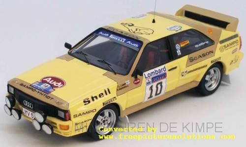 Audi Quattro,RAC Rallye 1983