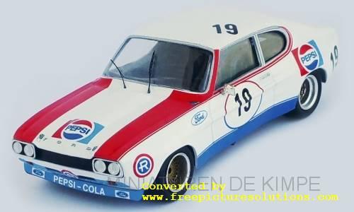 Ford Capri MKI RS 2600,Pepsi ,4h Monza 1973