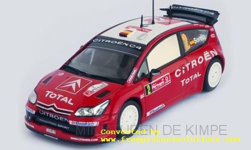 Citroen C4 WRC,Rallye Portugal 2007