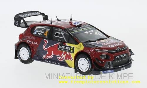 Citroen C 3 WRC,Rally Zweden 2019