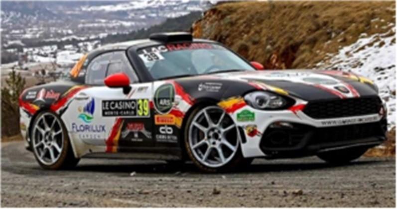 Fiat Abarth 124 RGT Lacracin.be,Rallye Monte Carlo 2020