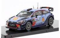 Hyundai i20 WRC NEUVILLE, GILSOUL vainqueur TOUR DE CORSE 2017