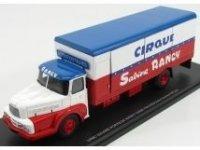 Unic Izoard Truck Porteur Court Avec Cages A Fauves, gabbie Con Leoni, sabine Rancy Cirque 1974
