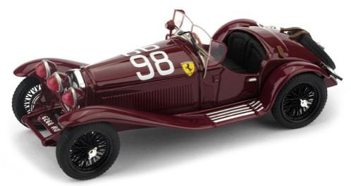 Alfa Romeo 2300  Winner MILLE MIGLIA 1933,scuderia Ferrari