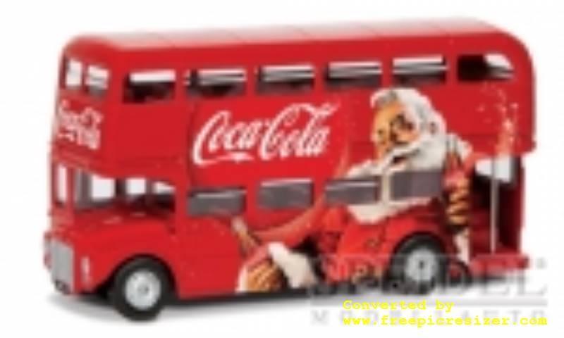 AEC Routemaster London Christmas Bus,Coca Cola