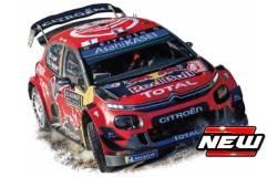 Citroen C3 WRC WINNER RALLY MONTE CARLO 2019