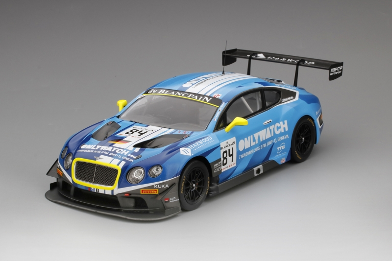 BENTLEY CONTINENTAL GT3 BLANCPAIN CUP MOSCOW CITY RACING 2015