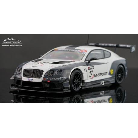 Bentley Gt3 M Sport Oulton Park Brittish GT 2014,bijna Uitverkocht