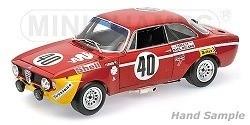 ALFA ROMEO GTA 1300 JUNIOR,WINNERS DIV.1 24u PAUL RICARD 1971