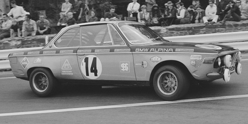 BMW 2800 CS,BMW ALPINA,WINNERS 24u SPA-FRANCORCHAMPS 1970