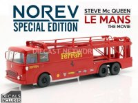 FIAT Bartoletti 306-2, Ferrari From Le Mans Movie, promotion limitee