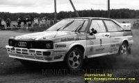 Audi quattro,  Rallye Lahti Historic,  2013