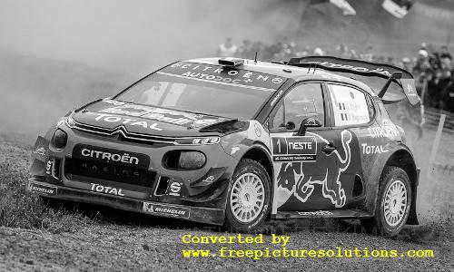 Citroen C3 WRC,Rallye Finnland 2019