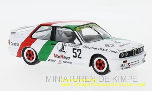 BMW M3 E30, ETCC 1988