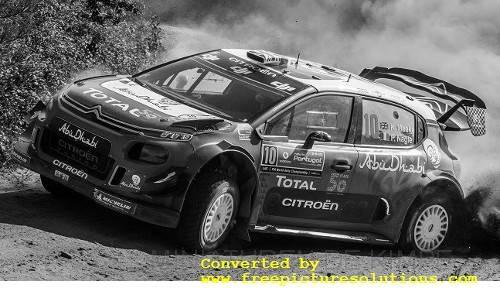 Citroen C3 WRC,Rallye WM, Rallye Portugal 2018