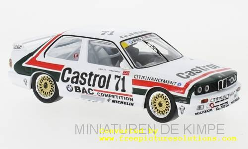 BMW M3 E30,ETCC 1988