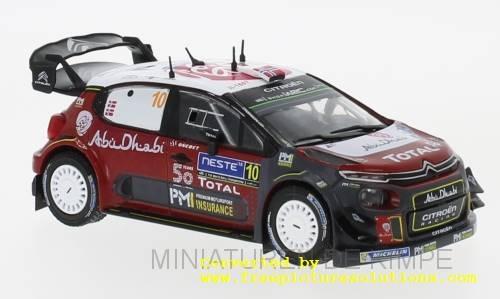 Citroen C3 WRC,Rallye Finnland 2018